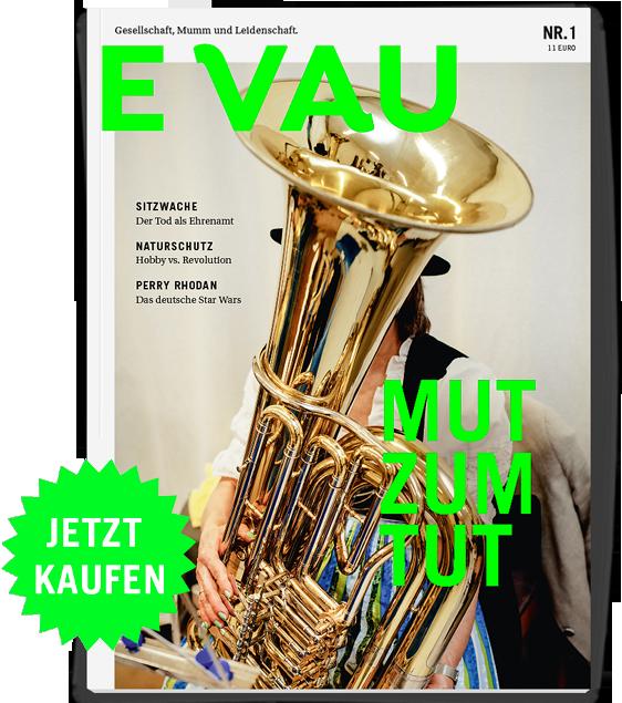Heftcover: EVAU Magazin Nr. 1