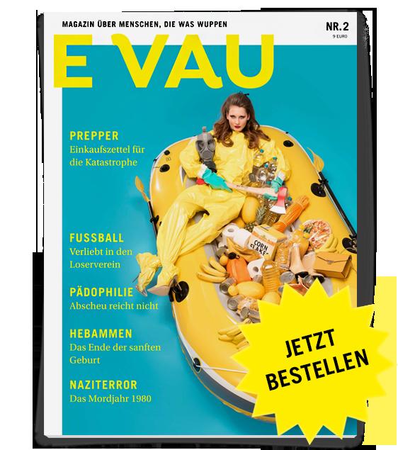 Heftcover: EVAU Magazin Nr. 2