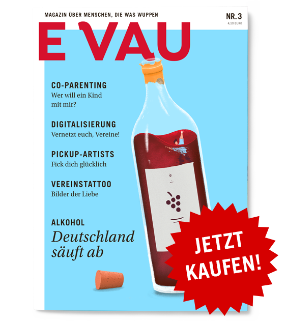 Heftcover: EVAU Magazin Nr. 3